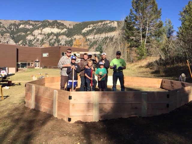 New GaGa Pit for the VSSA Playground